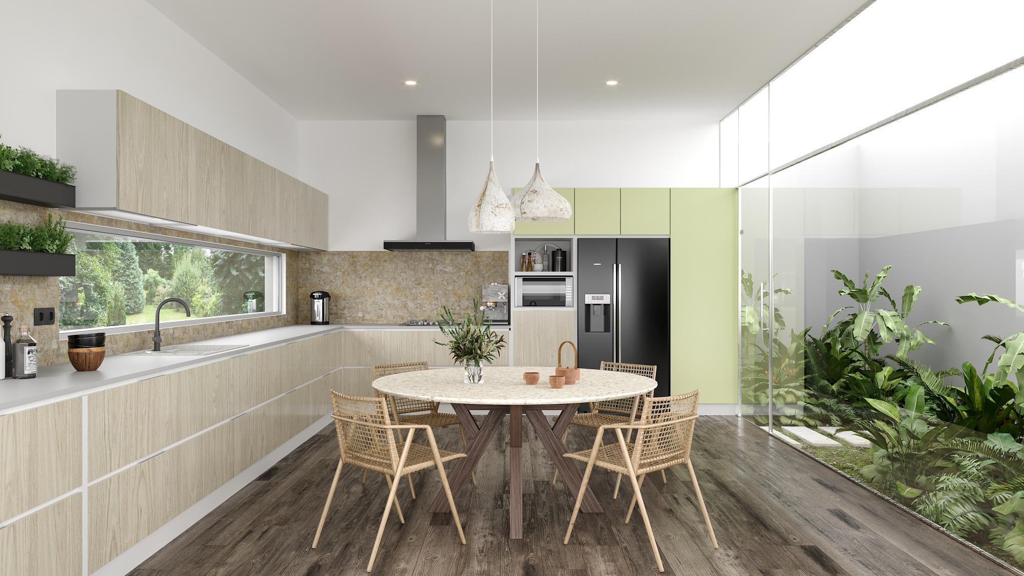 4-Trend-Videos-2020/21-Restoration-Render-Green-Kitchen-Eclectic-Trends