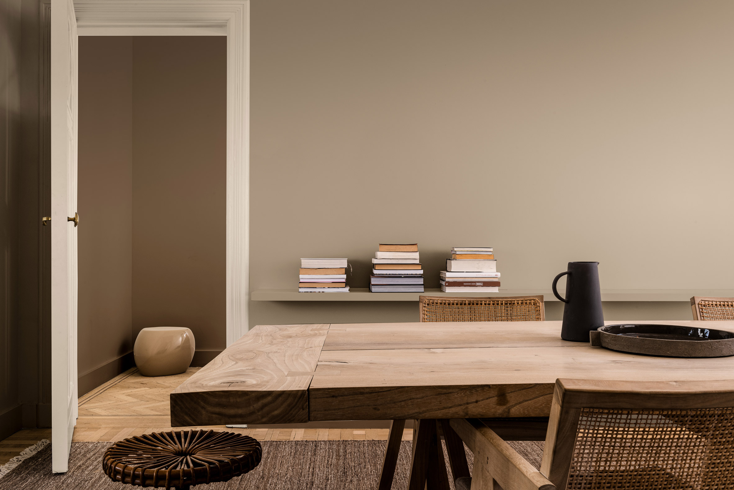 Color Of The Year 2021: brave Ground by Dulux-Eclectic Trends