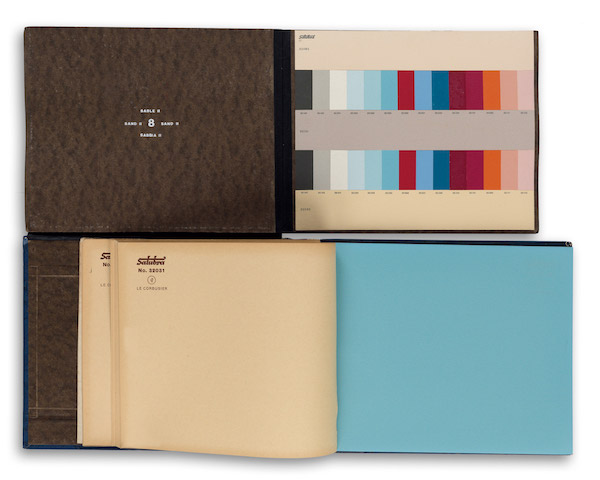 Le Corbusier Color Palette First Edition Book