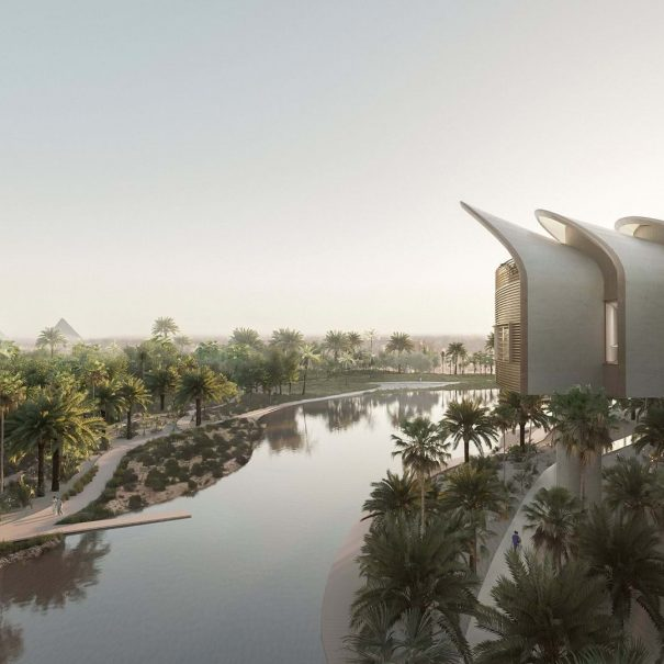 Humanizing Public Design in Foster& Partners Hospital Project In Cairo
