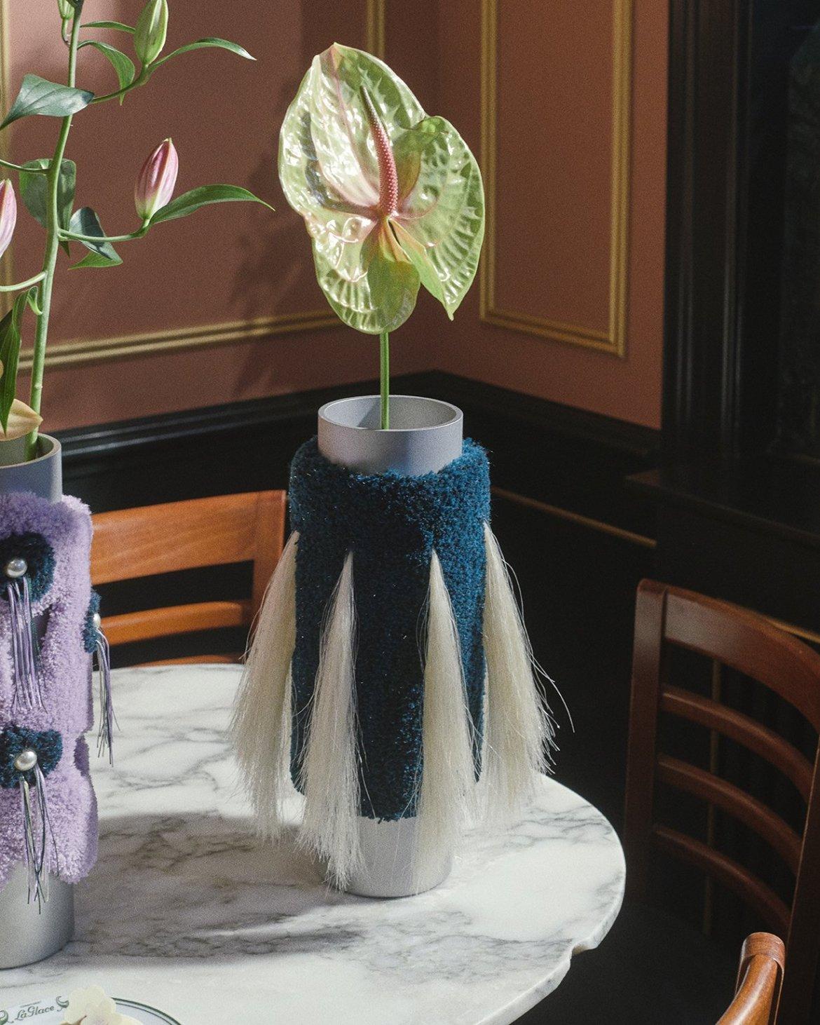 Cornucopia- A tactile, fun and striking vase collection