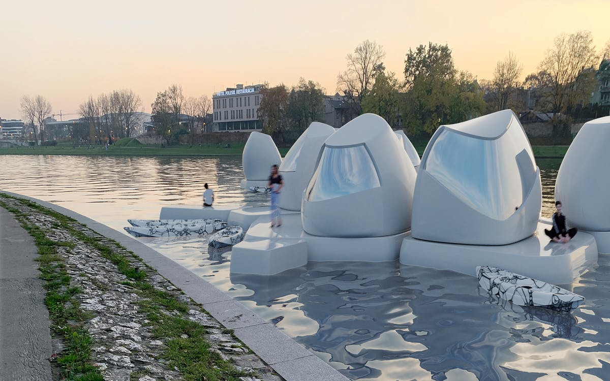 Floating Coworking Space