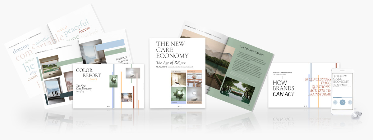 Trend Report - The New Care Economy -Wellbeing Report-Eclectic Trends