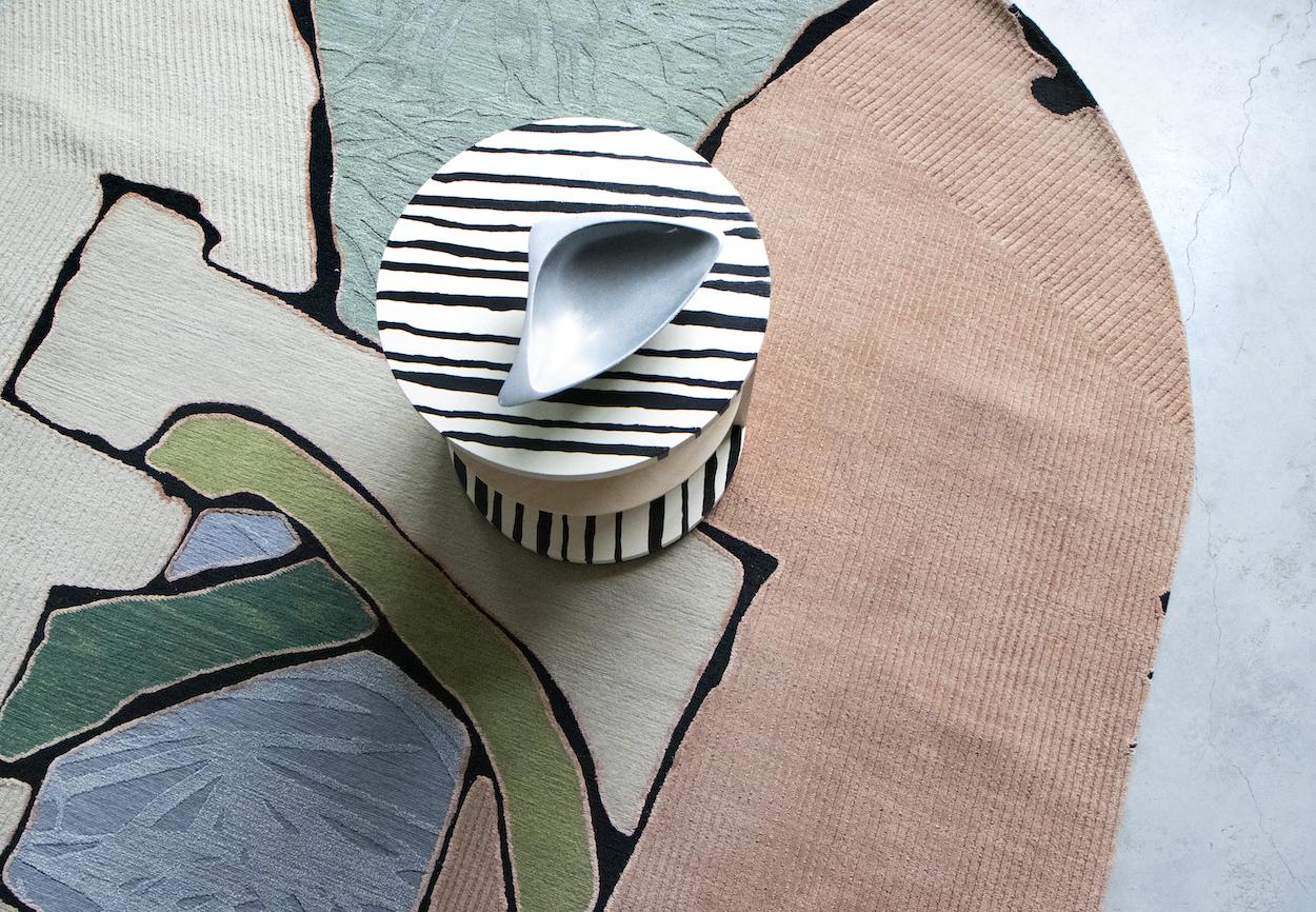 Artworks translated into textile design by Eskayel
