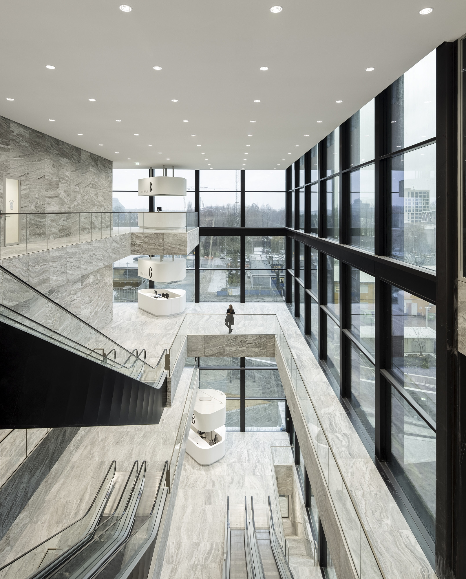 A chic courthouse in Amsterdam