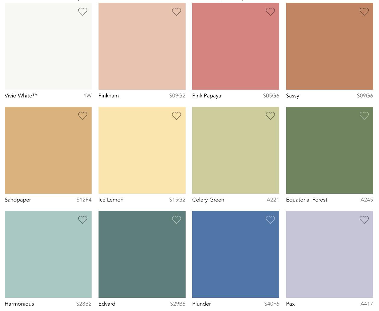 Color Trends 2022 Dulux Australia Wonder